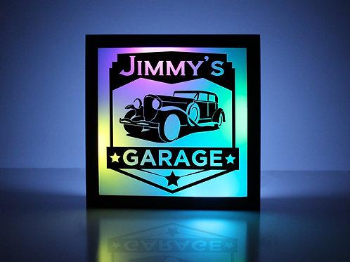 Vintage Truck Garage Sign