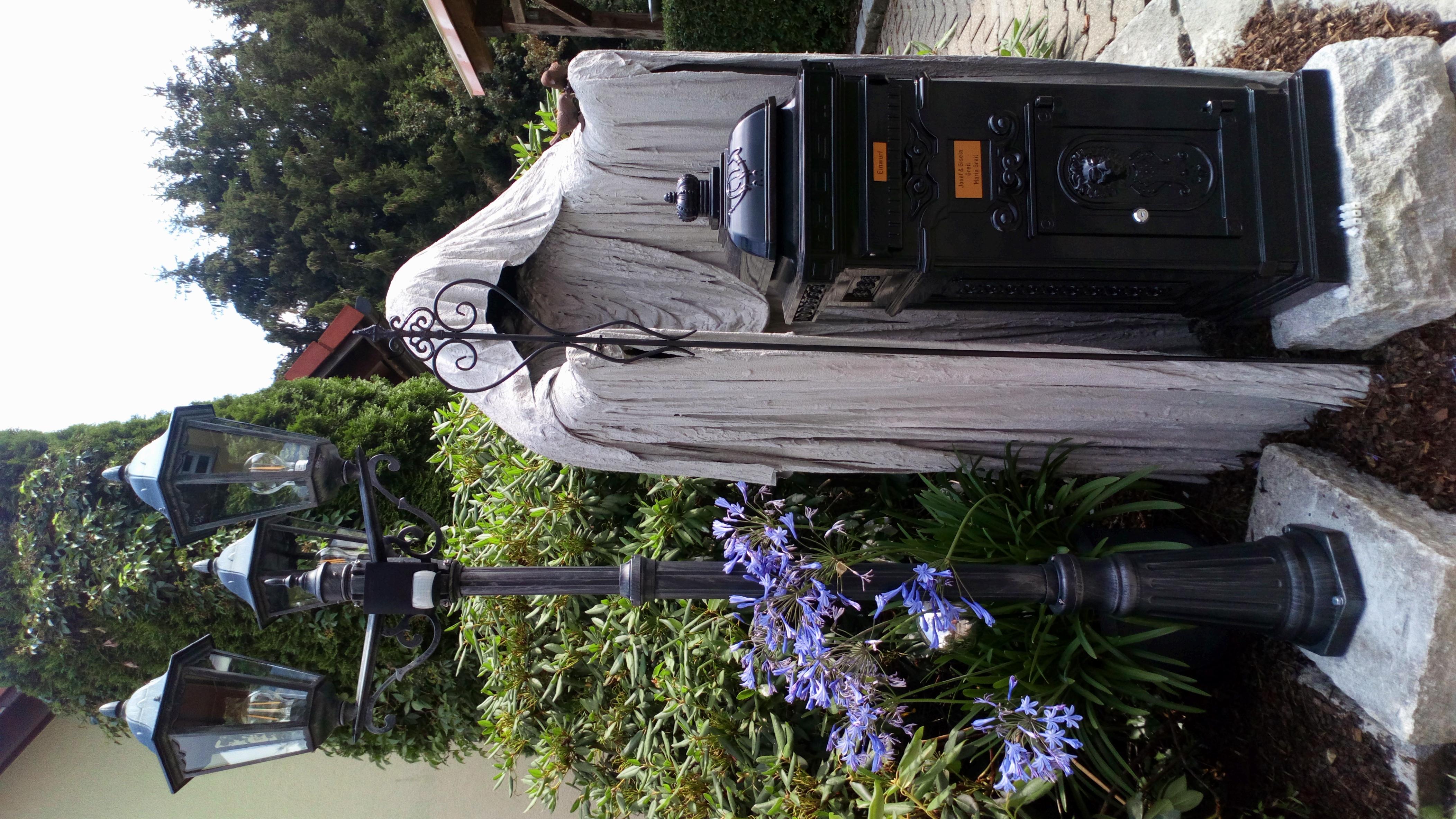 Gartenwächter Post