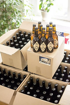 une cuvée de bière personnalisée pour votre évènement