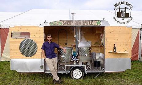 une micro-brasserie ambulante pour votre fête