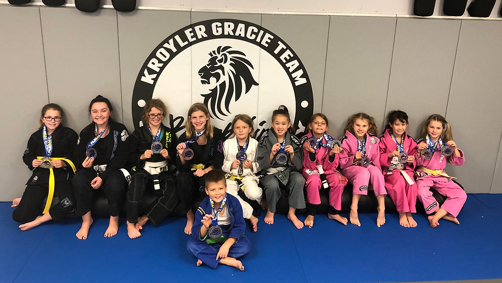 Black Lion students bring home some hardware from the Fugi Jiu Jitsu tournament in Grand Rapids
