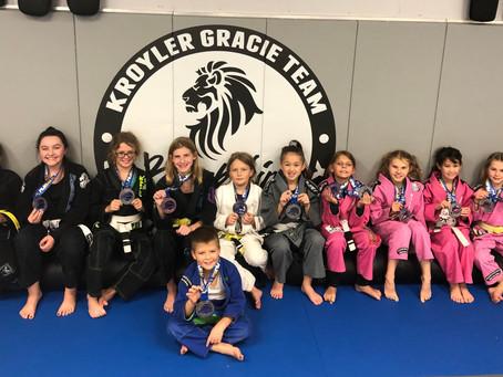 Black Lion Kids bring home some medals