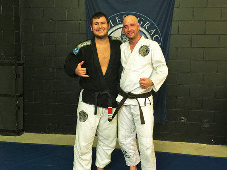 Belt Promotion: Chad Pomeroy - Brown Belt