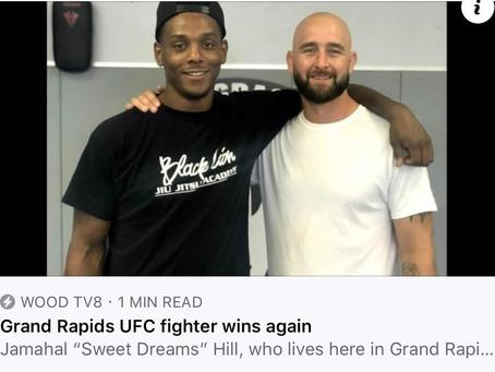 UFC: Fight Night, North Carolina, Jamahal Hill wins!