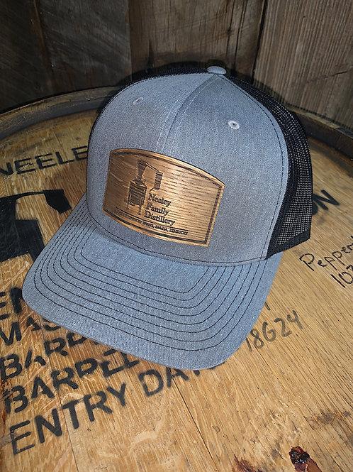 Light Grey Barrel Stave Hat