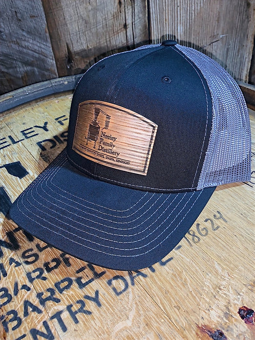 Black Barrel Stave Hat