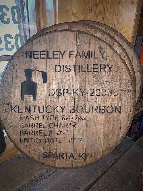 Neeley Family Barrel Head