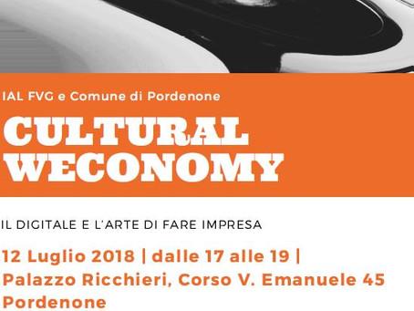 Cultural Weconomy: il digitale e l'arte di fare impresa