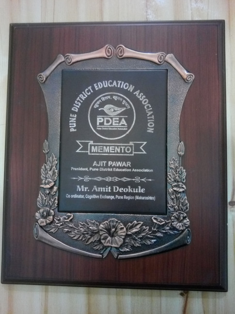 Awards and Achievements - Trophy fro PDEA.jpg