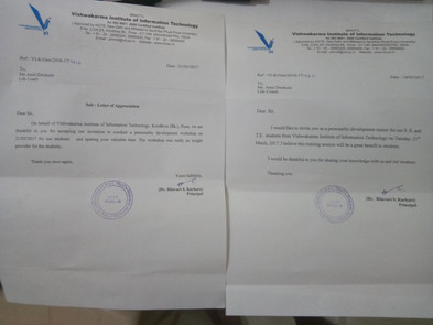 Awards and Achievements - Letter of Appreciation VIIT Pune.jpg