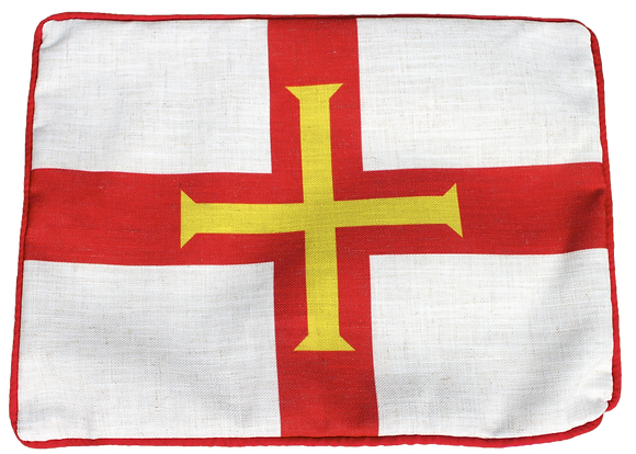 Guernsey (Classic) Flag Cushion - Cover Only