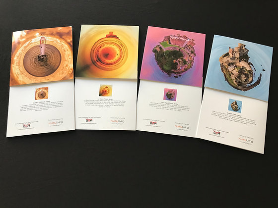 Heritage Site Gift Cards x4 (one of each design)