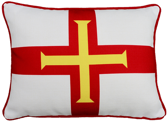 Guernsey (LUX) Flag Cushion - Cover Only