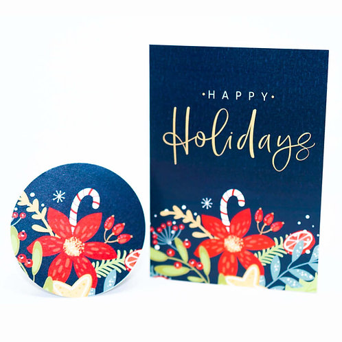 Christmas Greeting Cards by Template