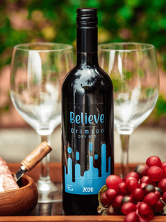 Believe Crimson Dry Red Wine