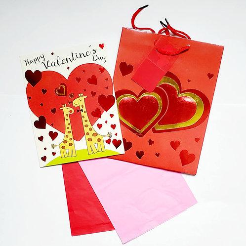 Valentine's Day Gift Bag Sets