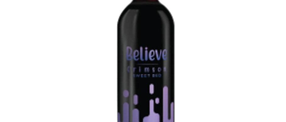 Believe Crimson Sweet Red Wine