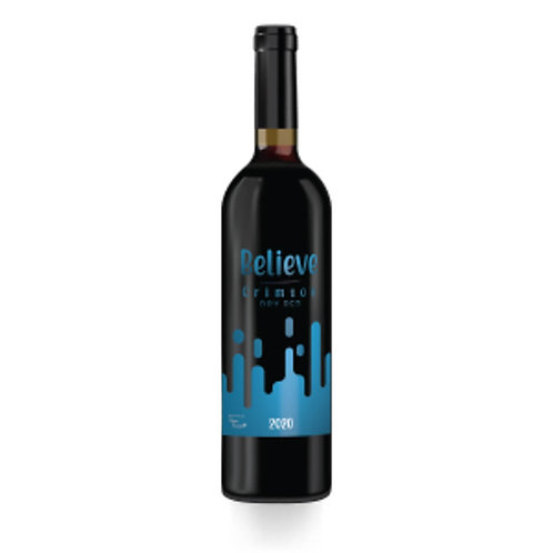 Believe Crimson Dry Red Wine