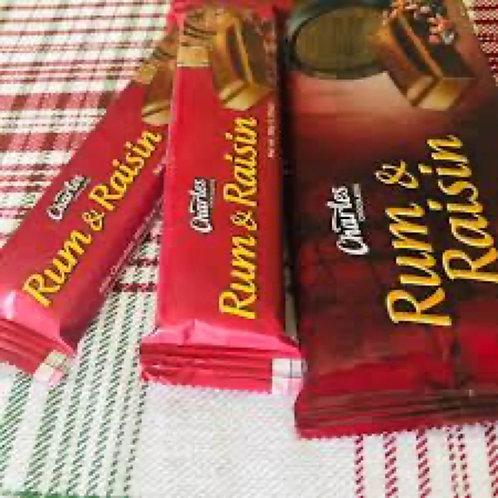 Charles Rum & Raisin Chocolate
