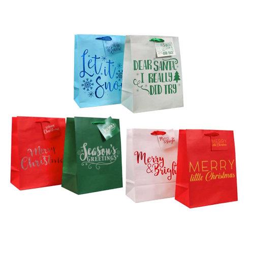Medium Christmas Gift Bag