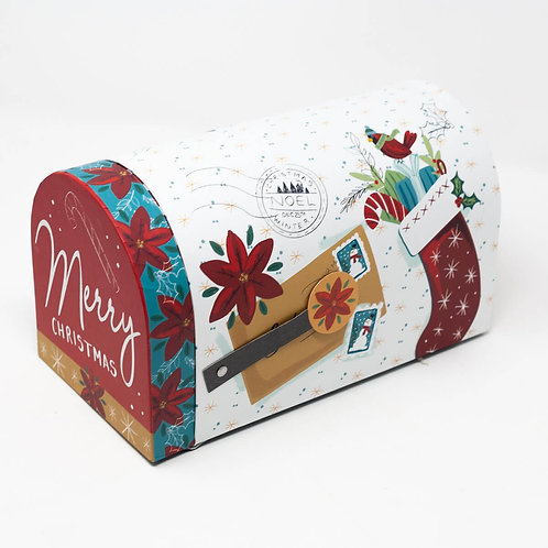 Mailbox-Shaped Christmas Gift Boxes