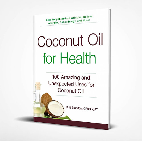 Coconut Oil for Health Front Cover