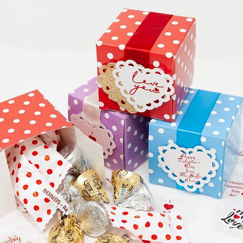 Polka Dot Favour Boxes