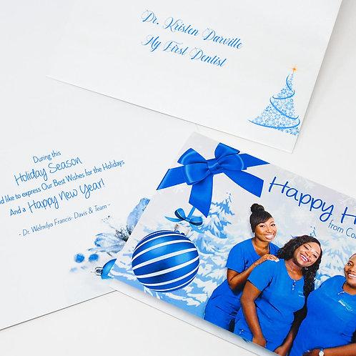 Custom Printed Holiday Cards