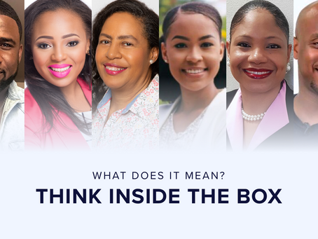What does it mean to Think Inside The Box?