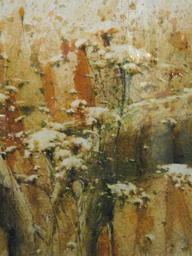 Wild & Sweet  Watercolor on paper 56 x 70