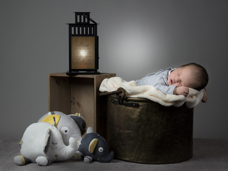 bébé studio photo