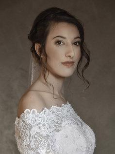Portrait Style Fine Art d'une mariée