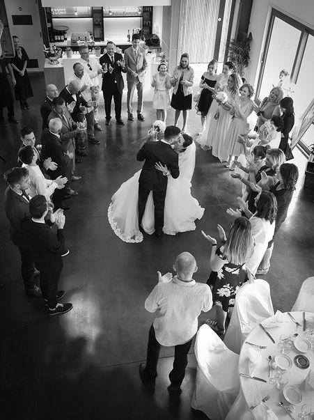 Ouverture du bal durant un mariage