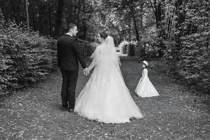 Mariés dans le bois