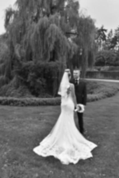 Mariés au parc d'Enghien