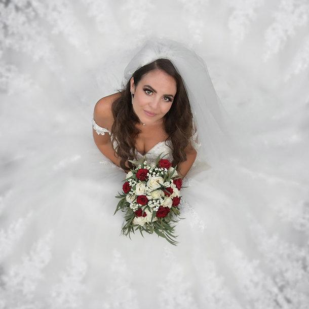 photographe mariage portrait d'une mariée