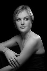 Portrait noir et blanc Florence