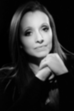 Portrait féminin en noir et blanc par vincen Andreoli