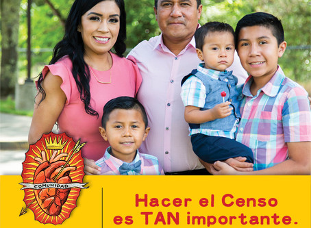 ¡Es muy fácil completar el Censo!