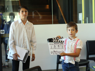 CLAPPER AND ACTOR MOVIE MAKING WORKSHOP.