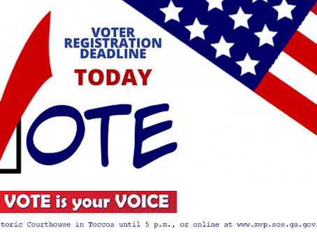 Last Chance: Final day of voter registration for Runoff Election
