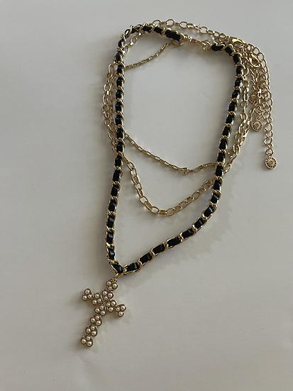 Cross set of 3 Necklace