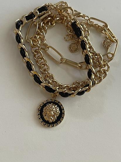 Lion set of 3 bracelets