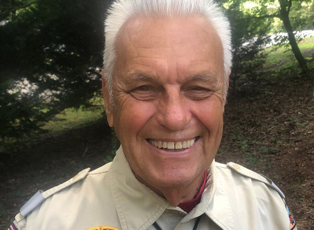 Toccoa's William Tucker earns one of Boy Scouts highest honor for volunteers