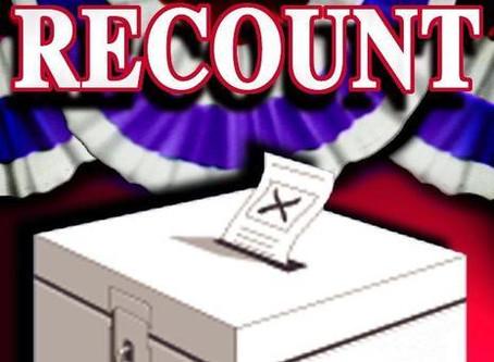 Recount confirmed for Hatchett/Hall Senate race