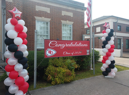 City of Toccoa shows support for Stephens County High School Class of 2020 graduates