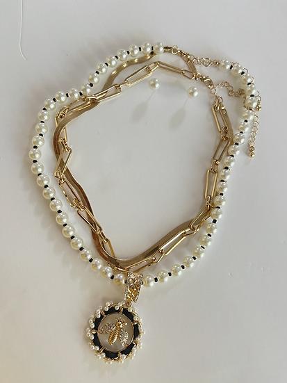 Bee Mine Necklace