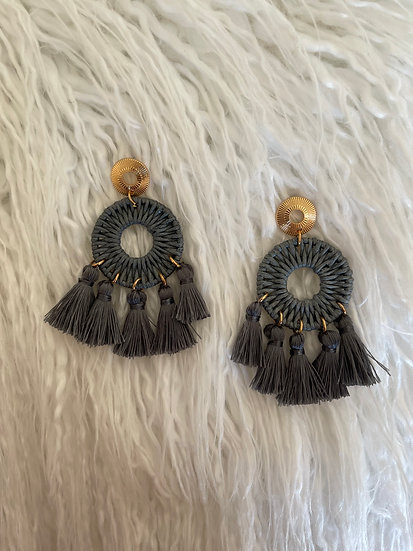 Marie Tassel Earrings