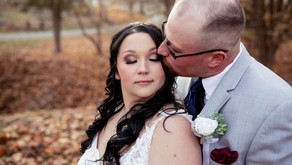 Homer + Molly's Fall Wedding | The Market at Ebbert Farms | St. Clairsville, OH