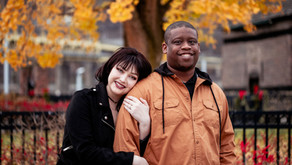 Dante + Jasmine's Chilly November Engagement | Pittsburgh, PA